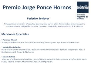 Se conoció el ganador del premio Jorge Ponce Hornos 2017